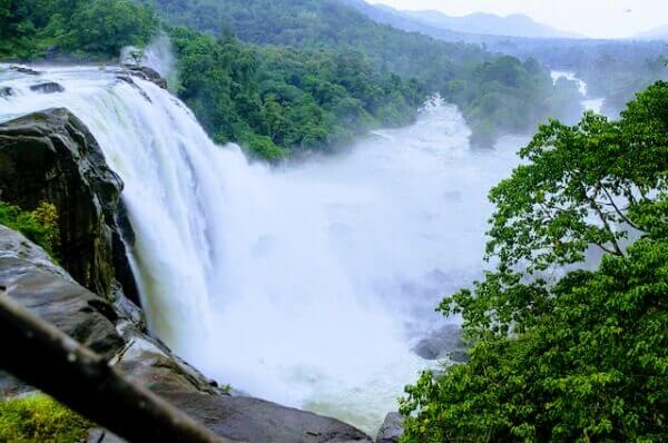 Athirapally-Waterfalls Kerala Tour Attraction