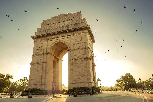 Delhi Agra Jaipur Tour Package, India Gate Delhi, Holiday Trip