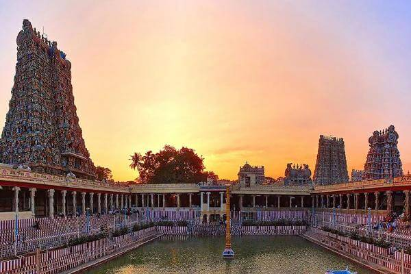 Madurai Meenakshi Temple Devotional Tour